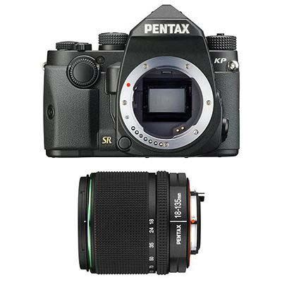 Pentax KP Digital Camera with DA 18-135mm Lens - Black