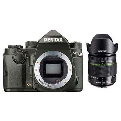 Pentax KP Digital Camera with DA 18-270mm Lens - Black