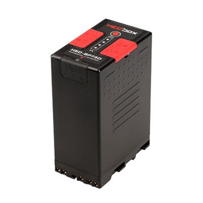 Image of Hedbox BP75D Pro Battery Pack for Sony 5200mAh Li-Ion Battery with 2x D-Tap 14.4V + USB 5V (BPU)