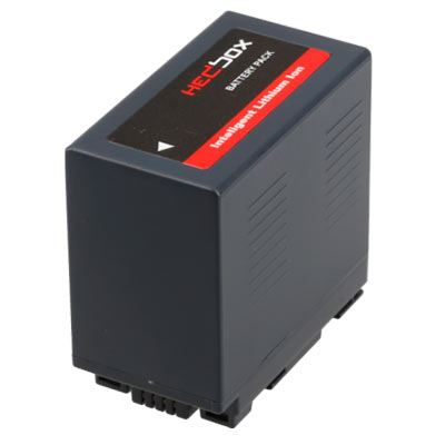 Image of Hedbox PD54S DV Battery Pack for Panasonic 5400mAh Li-Ion Battery 7.4V (CGR-D)