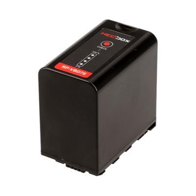 Image of Hedbox VBD78 DV Battery Pack for Panasonic 7800mAh Li-Ion Battery 7.4V (VBR)