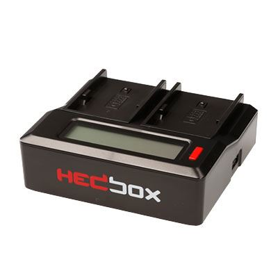 Hedbox DC50 Digital Dual Battery Charger