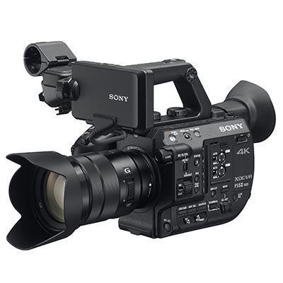 Sony PXW-FS5K II 4K Professional Camcorder and 18-105mm Lens