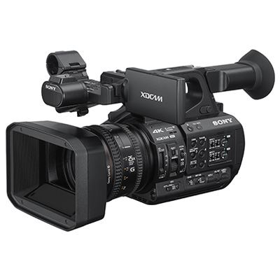 Sony PXW Z190 Handheld 4k camcorder