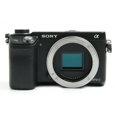 Used Sony Alpha NEX-6 Black Digital Camera Body