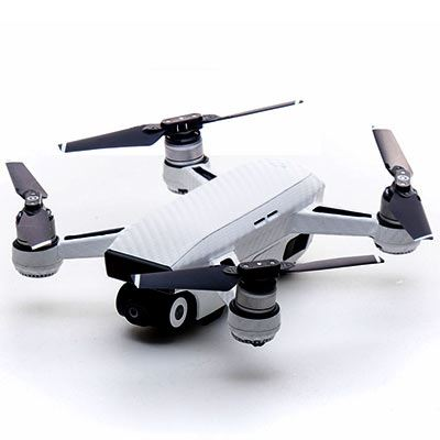 Image of Modifli DJI Spark Drone Skin Carbon White