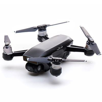 Modifli DJI Spark Drone Skin Vivid Shadow Black Propwrap™ Combo