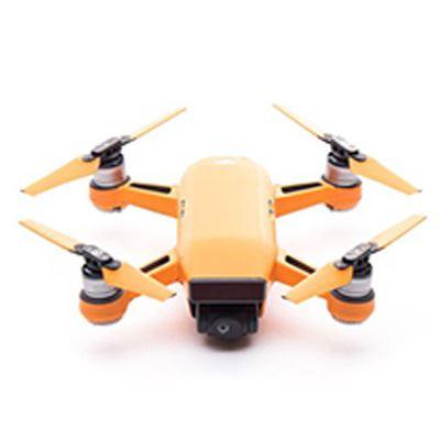 Modifli DJI Spark Drone Skin Vivid Lava Orange Propwrap™ Combo