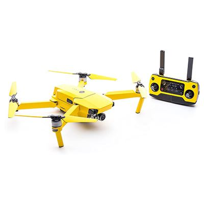 Image of Modifli DJI Spark Drone Skin Vivid Atomic Yellow