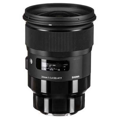 Sigma 24mm f1.4 DG HSM Art Lens - Sony E Fit