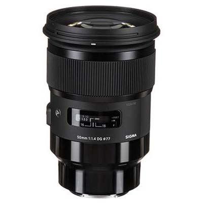 Sigma 50mm f1.4 DG HSM Art Lens - Sony E Fit