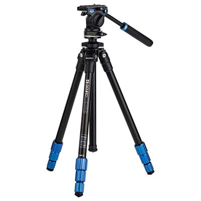Benro Slim Video Tripod with S2C Short Handle Head