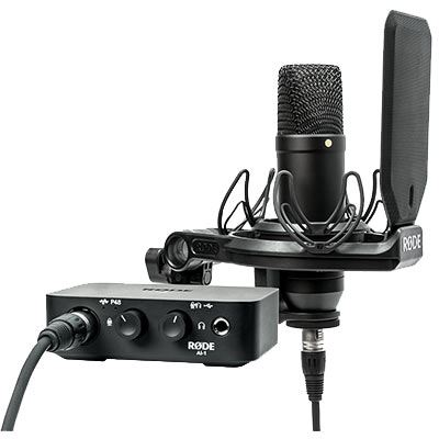 Rode NT1 and AI-1 Complete Studio Kit