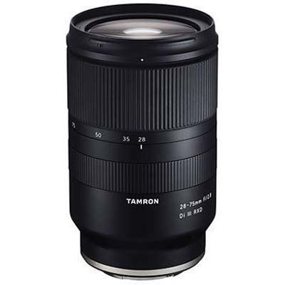 Tamron 28-75mm f2.8 Di III RXD Lens - Sony E Fit