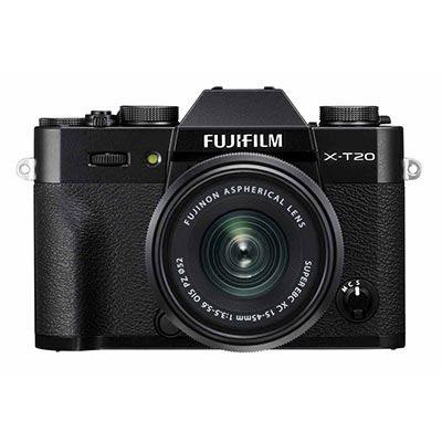 Fujifilm X-T20 with XC 15-45mm lens - Black