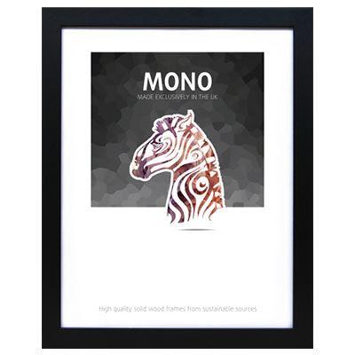 Ultimat Mono - Black 12x10 Readymade Frame