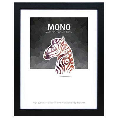 Image of Ultimat Mono - Black 16x12 Readymade Frame