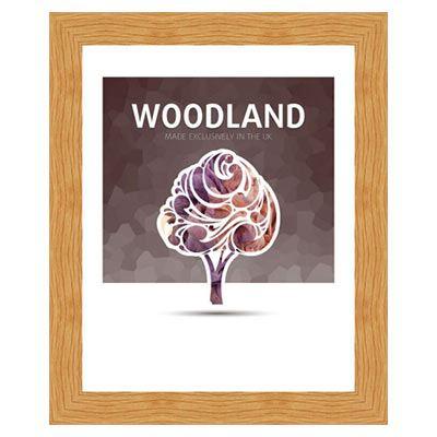 Ultimat Woodland - Oak A4 Readymade Frame