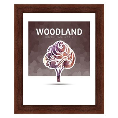 Ultimat Woodland - Walnut 10x8 Readymade Frame