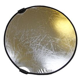 Bowens Collapsible Reflector 107cm Gold / Silver