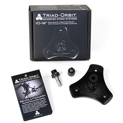 Triad-Orbit IO-W I-O wallplate/desktop mount