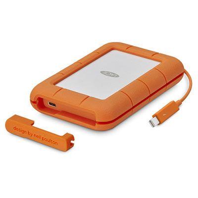 LaCie 5TB Rugged Thunderbolt + USB 3.1 Type C