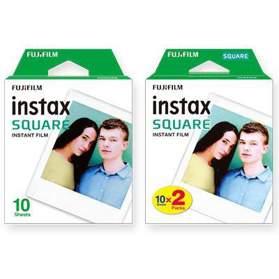 Image of Fujifilm Instax Square Film Twin Pack 20 Shots