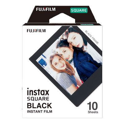 Fujifilm Instax Square Film Black Frame 10 Shots