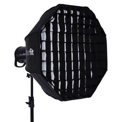 Image of Interfit 26 inch White Foldable Beauty Dish + Grid