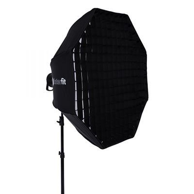 Image of Interfit 41 inch White Foldable Beauty Dish + Grid