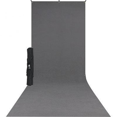 Westcott X-Drop Kit - Inc. 5 x 12ft Rich Black Backdrop with Sweep Skirt