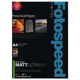 Fotospeed Matt Ultra 240 A4 Photo Quality Paper- 50 Sheets