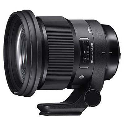 Image of Sigma 105mm f1.4 DG HSM Art Lens - Sigma SA Fit