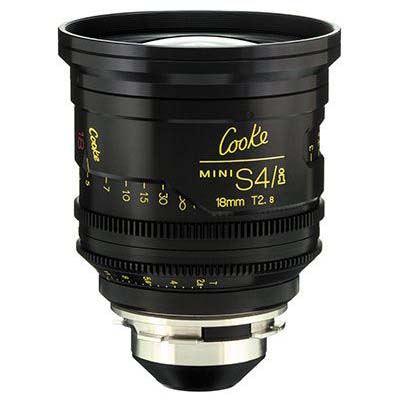 Image of Cooke Mini S4/i 18mm T2.8 Prime Lens