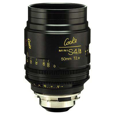 Cooke Mini S4/i 50mm T2.8 Prime Lens