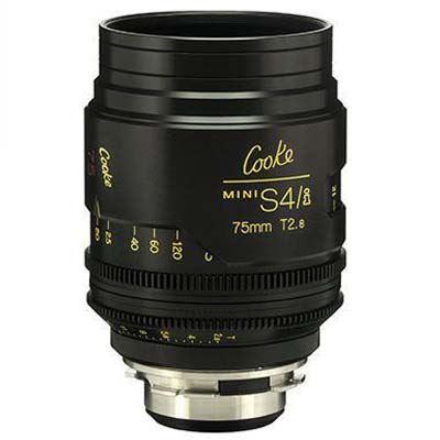 Image of Cooke Mini S4/i 75mm T3.2 Prime Lens