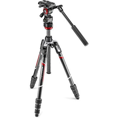 Manfrotto Befree Live Twist Carbon Fibre Tripod Kit