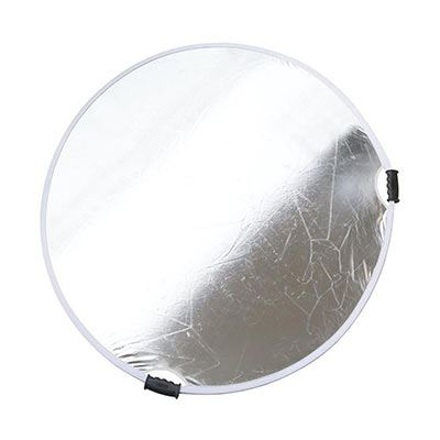 Image of Calumet 132cm Collapsible Reflector - Silver / White