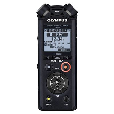 Olympus LS-P4 Linear PCM Recorder