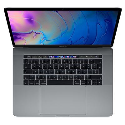 Apple MacBook Pro 15-inch with Touch Bar - 2.6Ghz 6Core (8thGEN) i7 16GB 512GB Space Grey