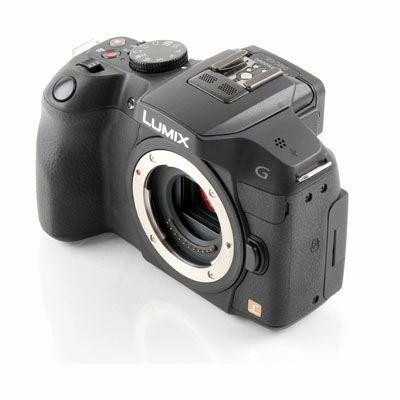 Used Panasonic LUMIX DMC-G6 Digital Camera Body