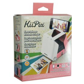 KiiPix Smartphone Picture Printer - Cherry Blossom Pink