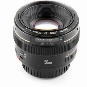 Used Canon EF 50mm f1.4 USM Lens