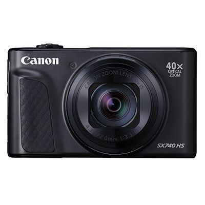 Image of Canon PowerShot SX740 HS Digital Camera - Black