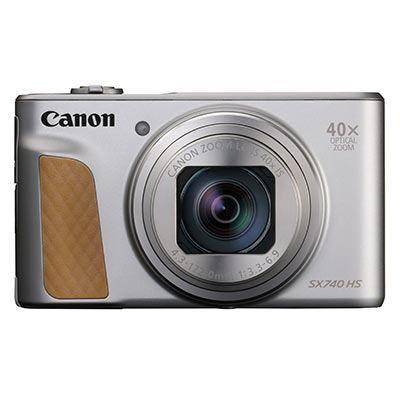 Image of Canon PowerShot SX740 HS Digital Camera - Silver