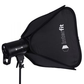 Interfit LM8 100W LED Monolight Softbox Kit