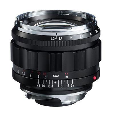 Voigtlander 50mm f1.2 VM Aspherical Nokton Lens