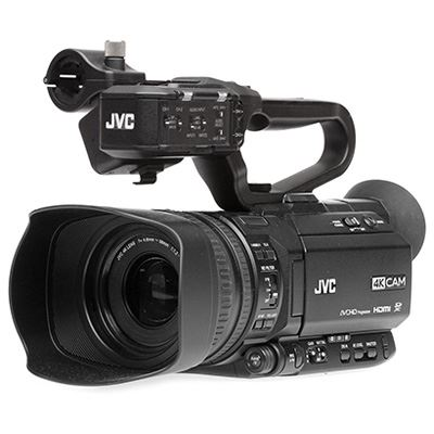 Image of JVC GY-HM180E Compact 4K Camcorder
