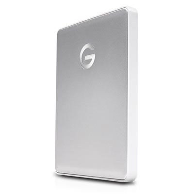 Image of G-Technology G-DRIVE Mobile USB-C 2000GB Silver WW v2