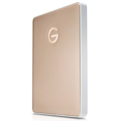 Image of G-Technology G-DRIVE Mobile USB-C 2000GB Gold WW v2